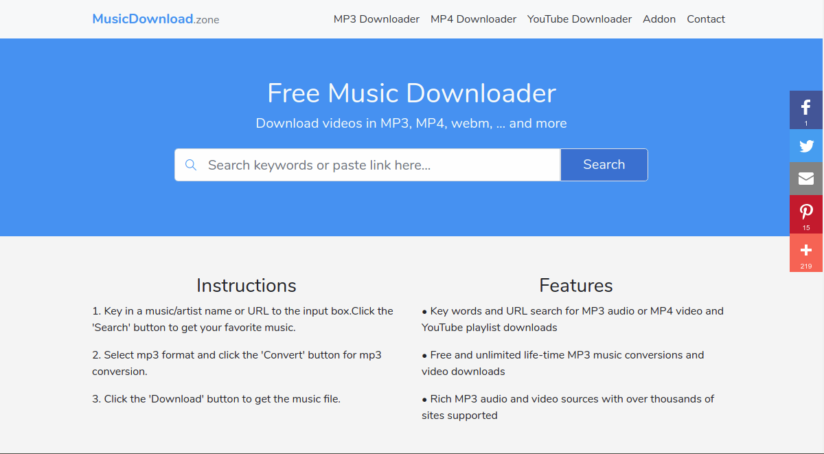 Free Music Downloader Best Mp3 Music Downloader